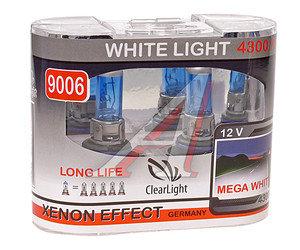 Лампа HB4/9006 12V 51W White Life бокс (2шт.) CLEARLIGHT ML9006WL