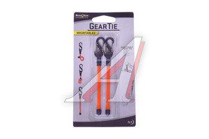 Держатель универсальный для проводов Gear Tie Clippable Twist Tie оранжевый NITEIZE GLZ-31-2R7