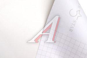Пленка виниловая белая матовая 1.52х0.5м, 180мк ТНП, рулон 20 полуметров(10м)