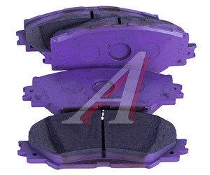 Колодки тормозные TOYOTA Auris (06-12) (Япония),Corolla (07-13) передние (4шт.) OE 04465-12610, GDB3425, 04465-12610/04465-42160