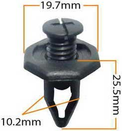 Пистон обивки универсальный KJ-1052 MASUMA KJ-1052