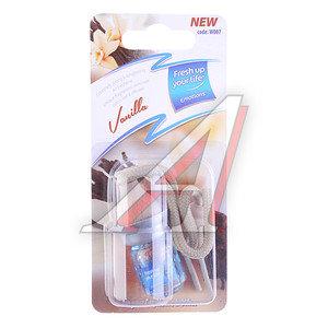 Ароматизатор подвесной жидкостный (ваниль) 5мл KREDO W007
