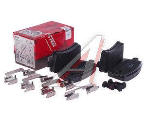 Колодки тормозные AUDI A4,A5 (08-) задние (4шт.) TRW GDB1765, 8K0698451