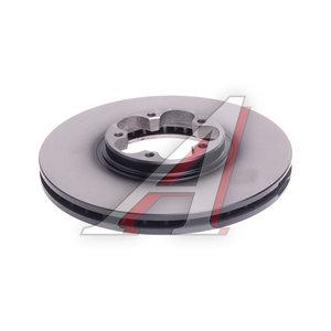 Диск тормозной FORD Transit (00-06) передний (1шт.) TRW DF4216, 1456667/1738807