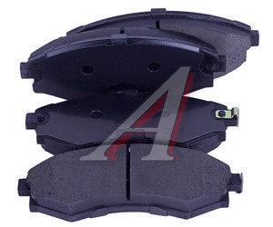 Колодки тормозные MITSUBISHI Galant,Lancer (88-00) (1.8/2.0) передние (4шт.) SANGSIN SP1054F, GDB1128,