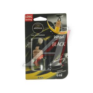 Ароматизатор подвесной жидкостный (черный) с деревянной крышкой 6мл Car Wood AROMA PH\ Aroma Car Wood, PH\ Aroma Car Wood denim black