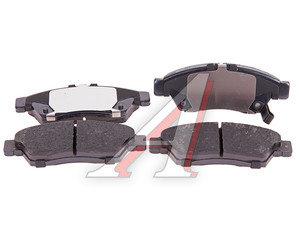 Колодки тормозные SUZUKI Liana (1.3/1.6) 4WD (02-) передние (4шт.) TRW GDB3290, 5581054G61
