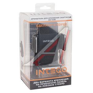 Держатель телефона универсальный 55-86мм вращение 360 INTEGO AX-1238