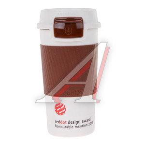 Термокружка 360мл непроливайка шоколад Morgan CONTIGO 321-139, 1000-0233