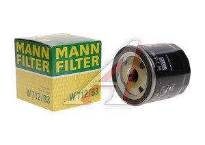 Фильтр масляный ГАЗ-31105 (дв.CHRYSLER) MANN+HUMMEL 31105-04105409АВ W 711/80/ 712/83, MANN W 711/80