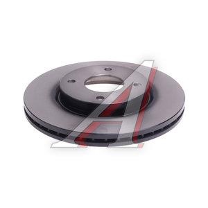 Диск тормозной NISSAN Tiida (04-) передний (1шт.) TRW DF6142, 24.0124-0238.1, 40206-EM10A