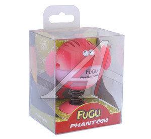 Ароматизатор на панель приборов гелевый (ягоды красные) фигура Фугу Fugu PHANTOM PH3548 \Фугу Fugu, PH3548,