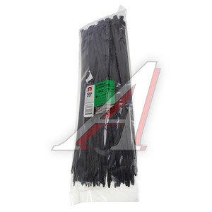 Хомут-стяжка 400х8.0 пластик черный (100шт.) FORTISFLEX 1008400-1, 50285,