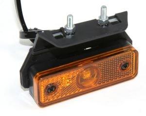 Фонарь габаритный LED с кронштейном желтый АВТОТОРГ 1654L