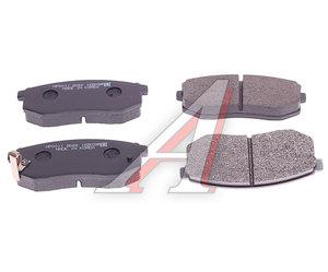Колодки тормозные HYUNDAI Galloper (91-) задние (4шт.) HSB HP0011, 58302-M2A10