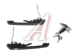 Ручки двери и замок багажника ВАЗ-2108 комплект ДААЗ 2108-6100040-10, 21080610004010