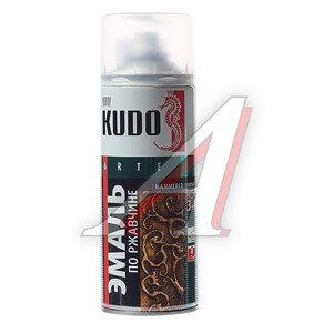 Краска по ржавчине серебристо-зеленая аэрозоль 520мл KUDO KUDO KU-3004, KU-3004