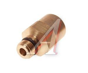 Соединитель трубки ПВХ,полиамид d=8мм (наружная резьба) М10х1 прямой латунь CAMOZZI 9512 8-M10X1