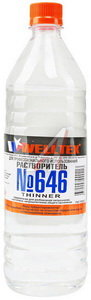Растворитель 646 WELLTEX 1л WELLTEX 646, 82346