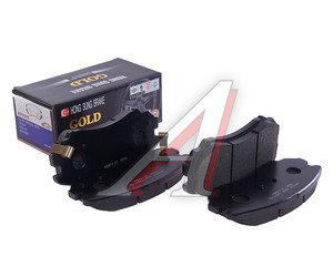 Колодки тормозные HYUNDAI Sonata 5,Tucson,Elantra (ТАГАЗ) KIA Magentis передние (4шт.) HSB HP0009, GDB3352/58101-3KA20/581012EA11/58101-2EA30, 58101-3KA20