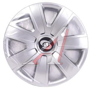 Колпак колеса R-14 декоративный серый комплект 4шт. 224 224 R-14