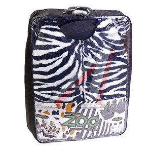 Накидка на сиденье мех искусственный зебра 5шт. LUXURY 1170021-001ZEB