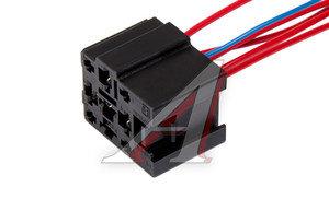 Разъем реле электромагнитного 5-контактное с проводами, реле стеклоочистителя CARGEN AX-340-4,