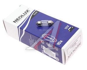 Лампа 12V C10W двухцокольная 31мм NEOLUX N269, NL-269