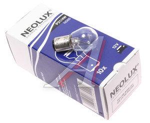 Лампа 12V P21/4W двухконтактная NEOLUX N566, NL-566,