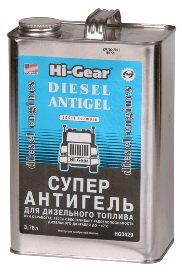 Антигель дизельного топлива 3.78л на 1900л HI-GEAR HG3429