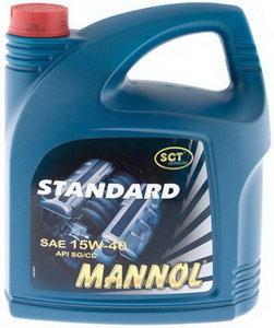 Масло моторное STANDART POWER мин.1л MANNOL MANNOL SAE15W40, 1215