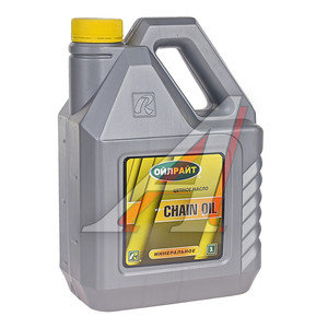 Масло для цепей бензопил CHAIN OIL 3л OIL RIGHT OIL RIGHT, 2692