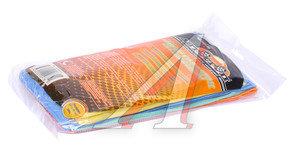 Салфетка микрофибра универсальная 30х30см 8шт. АВТОСТОП AB-3601-85