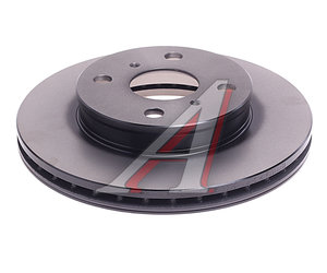 Диск тормозной TOYOTA Corolla (91-02) передний (1шт.) TRW DF7114, RN-1250, 43512-12590