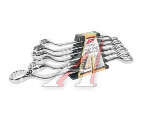 Набор ключей накидных 10-24мм 6 предметов в холдере изгиб 45град. JTC JTC-PR1012S