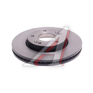 Диск тормозной HYUNDAI Tucson (04-),Getz KIA Sportage (04-) передний (1шт.) TRW DF4283, 51712-2C000/51712-3K050/51712-2E300/51712-1F000