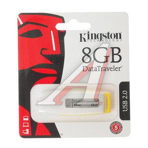 Карта памяти USB 8GB KINGSTON DT101G2 KINGSTON 8GB DT101, DT101G2, 8GB