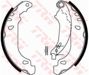 Колодки тормозные RENAULT Clio 2 задние барабанные (4шт.) TRW GS8669