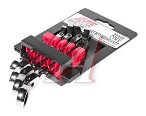 Набор ключей трещоточных 8-14мм накидных с подвижной головкой JTC JTC-5033S,