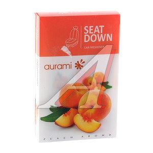 Ароматизатор под сиденье гелевый (медовый персик) 100г Seat Down AURAMI SD107,