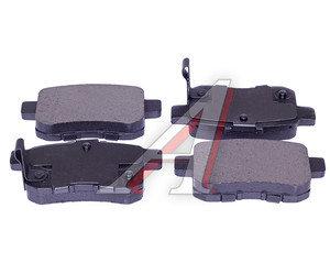 Колодки тормозные HONDA Accord (08-) (2.0/2.4) задние (4шт.) SANGSIN SP2103, GDB3482,