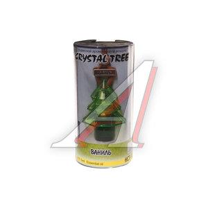 Ароматизатор подвесной жидкостный (ваниль) 5мл Crystal tree FKVJP HCT-92
