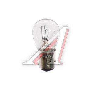 Лампа 12V P21/5W BAY15d двухконтактная МАЯК А12-21+5-2, 61215