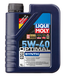 Масло моторное OPTIMAL SYNTH синт.1л LIQUI MOLY LM SAE5W40 3925, 84163