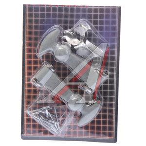 Замок багажника PRO SPORT резиновый,серебро комплект RS-01912,