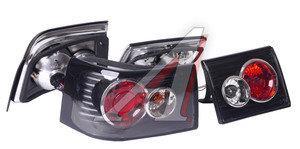 Фонарь задний ВАЗ-2110, 2112 прозрачный, черный комплект PRO SPORT RS-07493, 2110-3716010