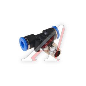 """Фитинг для пластиковых трубок 1/8"""" Т-образный 6мм с наружной резьбой ROCK FORCE RF-SPB06-01"""