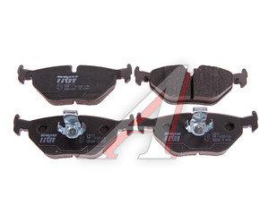 Колодки тормозные BMW 5 (E39) задние (4шт.) TRW GDB1265, 34216761281