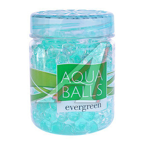 Ароматизатор на панель приборов гелевый (вечнозеленый) Aqua Balls PALOMA PALOMA 220701 Вечнозеленый, 220701,