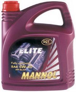 Масло моторное ELITE синт.4л MANNOL MANNOL SAE5W40, 1006,